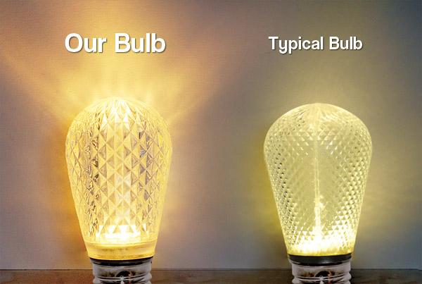S14 LED Bulb comparison