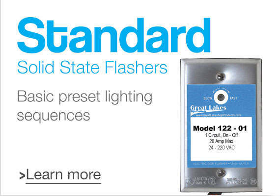 Standard Solid State Flashers
