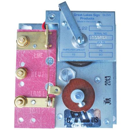 FMS Model 22-01 Mechanical Flasher